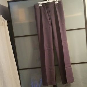 J CREW gray wool trouser pants, lined, size 4
